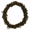 Dazzle-it Chain Link Bracelet 18cm Brass Oxide